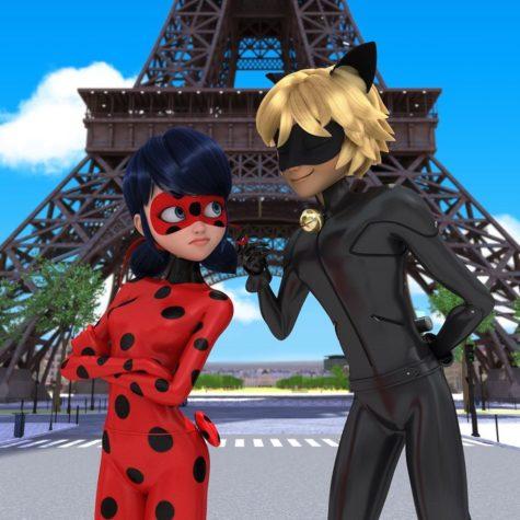 Miraculous Ladybug & Cat Noir vs Talking Tom Gold Run