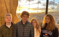 The Crane siblings enjoying spending time together. (Left to right: Patrick, Bennett, Annika, Bella)
