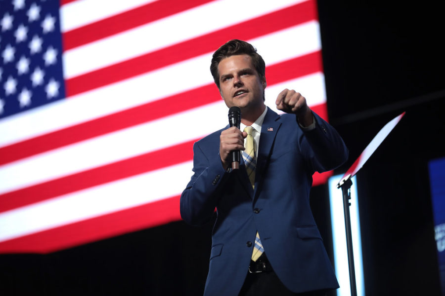 Representative Matt Gaetz (Fl. 1) was elected to the House of Representatives in 2016