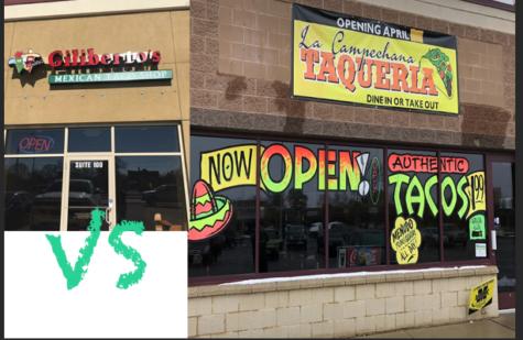 Gilbertos taco shop and La Campechana