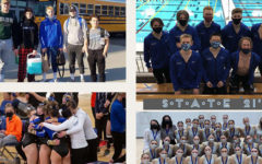 A collage with Sartell teams that attended the 2021 State Tournament.