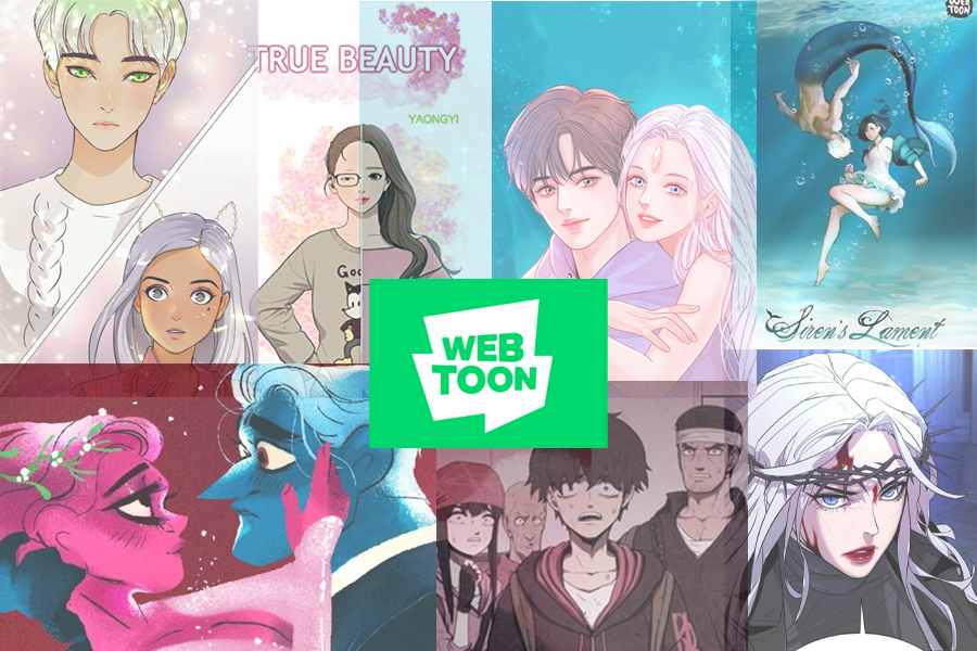 So many amazing stories are available on Webtoon.