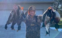 Garrett Maras caught his limits of Mallards on the Mississippi.
