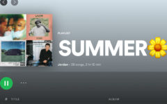 This is what the playlist would look like in Spotify.